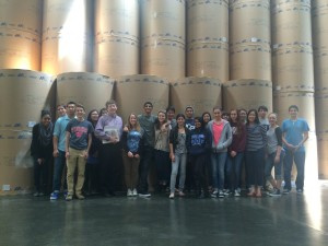 The Wolfpacket Staff Tours LA Times