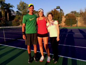 Claremont Teen Plays in US Open and Other Professional Matches