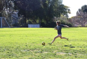 """Boo Boo the Beast"" Strives for Excellence on the Soccer Field"