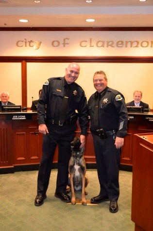 New Police Dog Joins the Claremont Force