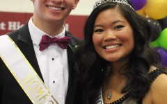 A Road to Remember: Homecoming 2015 Princess Claire Colinco and Prince Matt Brown