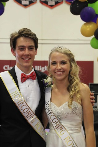 A Road to Remember: Homecoming 2015 Princess Gail Henley and Prince Gavin Wride