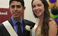 A Road to Remember: Homecoming 2015 Princess Kristen Kiltgaard and Prince Bijan Kavoosi