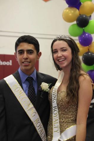 A Road to Remember: Homecoming 2015 Princess Kristen Kiltgaard and Prince Bijan Kavoosi