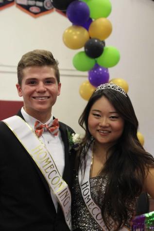 A Road to Remember: Homecoming 2015 Princess Christine Hyun and Prince Jack Kolodge