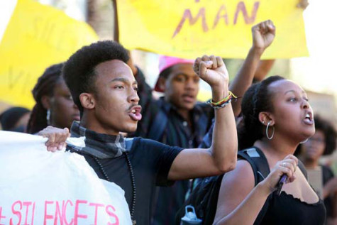 Students At Claremont McKenna College Protest Racist Incidents