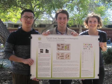 Mittman's Enviromental Science Students Redesign 600 Quad