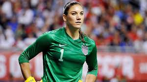 Hope Solo Gets a Red Card