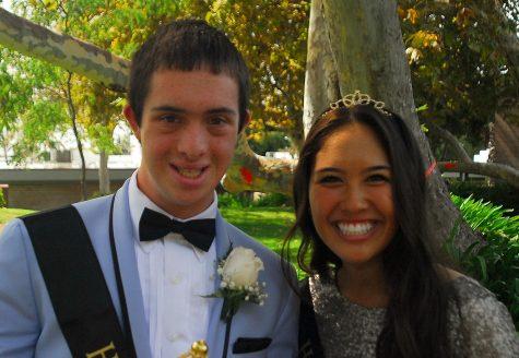 Homecoming King Joshua Witt and Queen Danielle Pichay