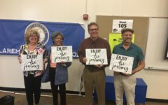 Claremont High School's 2018 Retirees