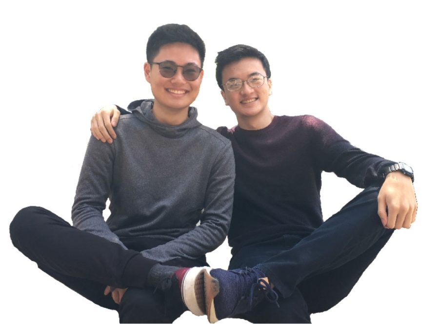 Class of '19 Valedictorian Ryan Vuong and Salutatorian Justin Wei Are All Smiles After All Their Hard Work