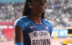 Brittany Brown, CHS Alumna, Wins Silver at IAAF World Track Championships