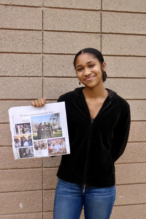 CHS+Student+Jayla+Sheffield+Appears+in+New+York+Times