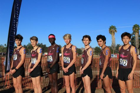 Claremont Cross-Country Shows Support for Saugus High School