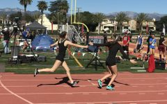 Coed 4×400-meter relay hurdles tradition as a new event