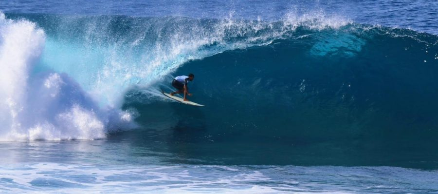 International Surfers take over the podium at the North Shore in the 2020 Volcom Pipe Pro