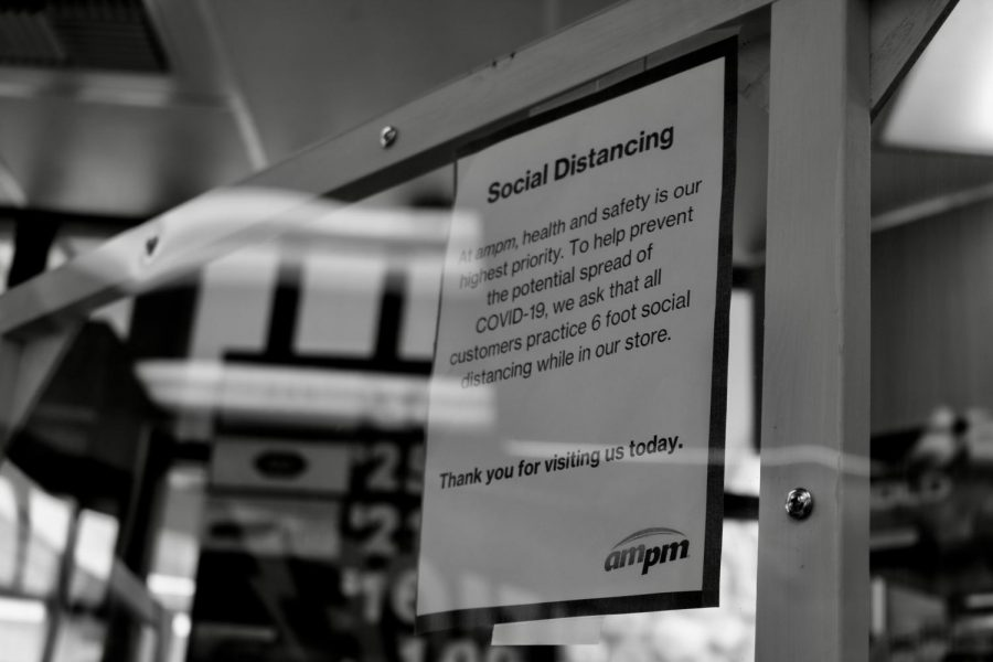 AM/PM ensures social distancing guidelines within their stores