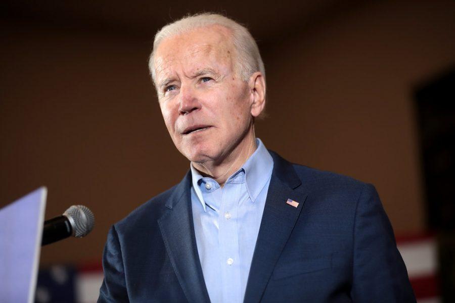 Pictured, Democratic Presidential Candidate, Joe Biden.