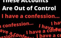 We need to confess: these accounts are out of control