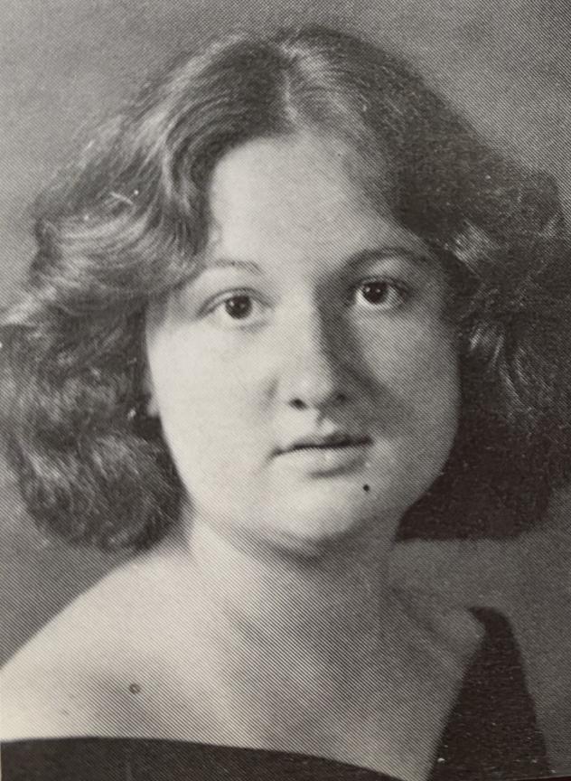 Elhai's senior portrait.