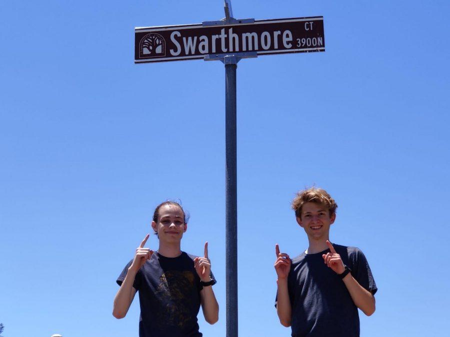 Best+friends+forevermore%3A+lifelong+pals+Rowan+Orlijan-Rhyne+and+Zack+Kreines+to+attend+Swarthmore+College